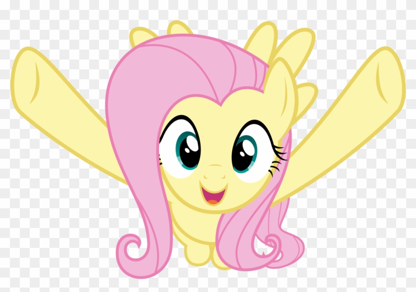 More Celebratory Hugs Definitely - Fluttershy Wants To Hug You #338553