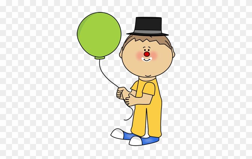 Circus Clipart Circus Person - Kid Clown Clipart #338687