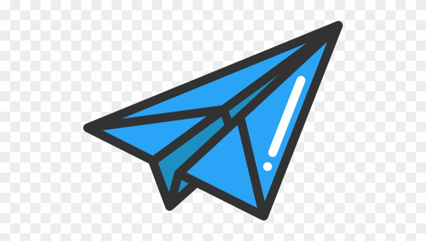 Paper Plane Free Icon Blue Paper Airplane Icon Png Free Transparent Png Clipart Images Download