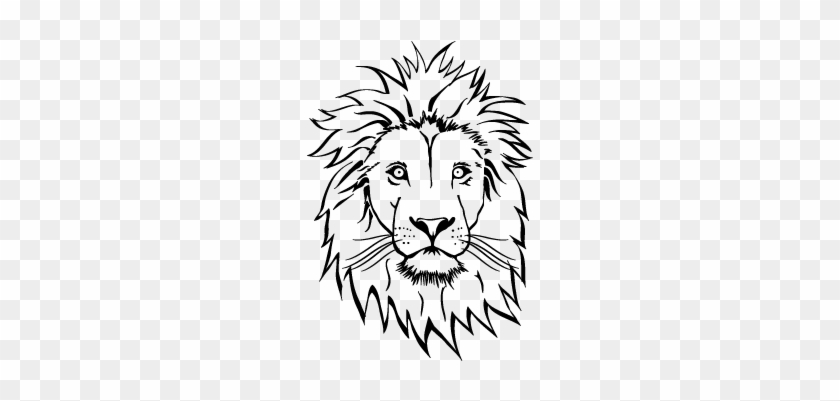 Lion Head Drawing At Getdrawings Coloring Pages Lion Face Free