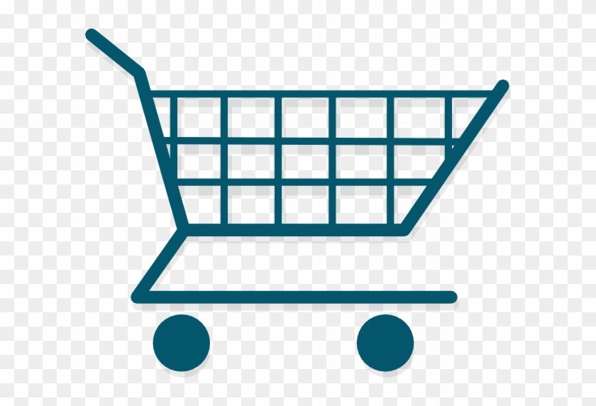Menu Logo Cart Clip Art At Clker - Logo Toko Online Png #339101