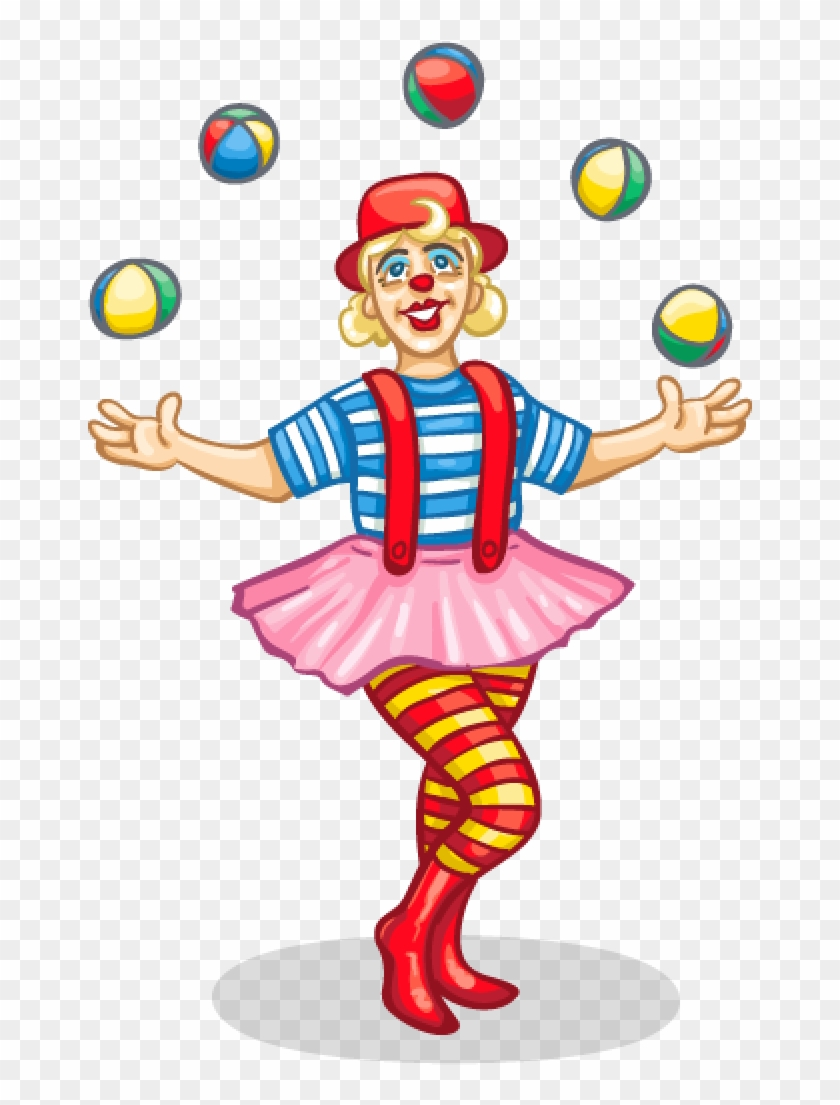 Well Despite The Eye-bags, Which By The Way Seem To - Circus Clown Clipart #339159
