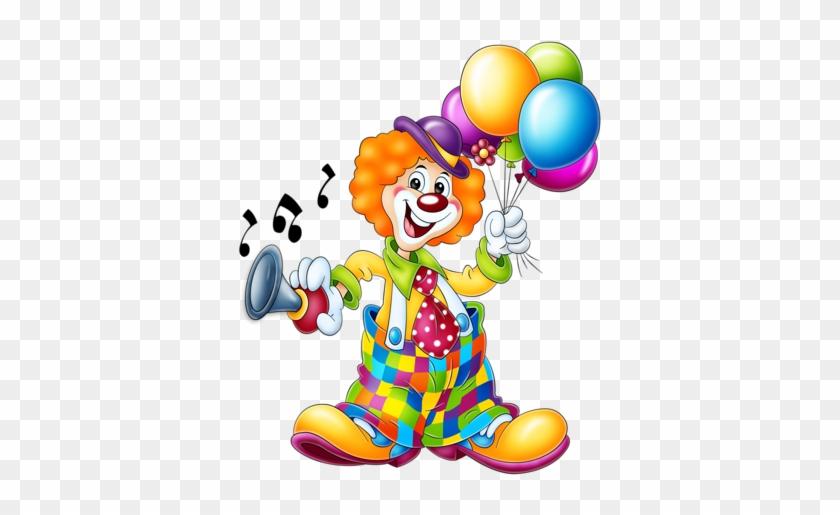Clowns - Quenalbertini - Circus - Clipart - Photo, - Clown Clipart Png #339192