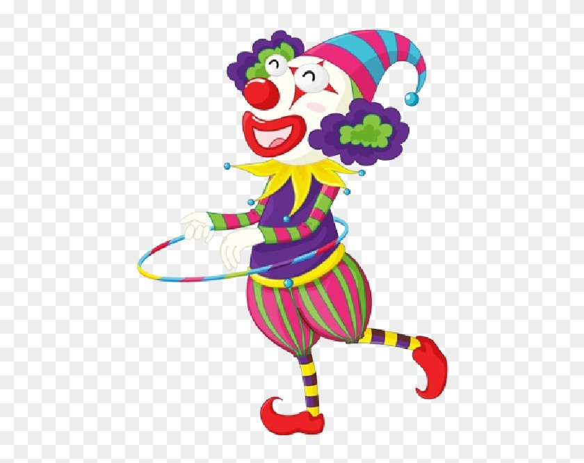 Cartoon Party Clowns Are Free To Copy For Your Own - Stickers Clown #339233