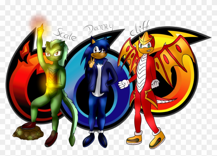 Team Dragonoid By Megamandragonoid Team Dragonoid By - Sonic Heroes Textures #339353