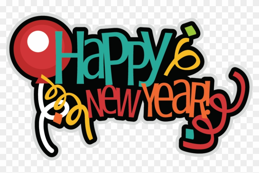Svg New Year Clip Art - Happy New Year 2018 Stickers #339359