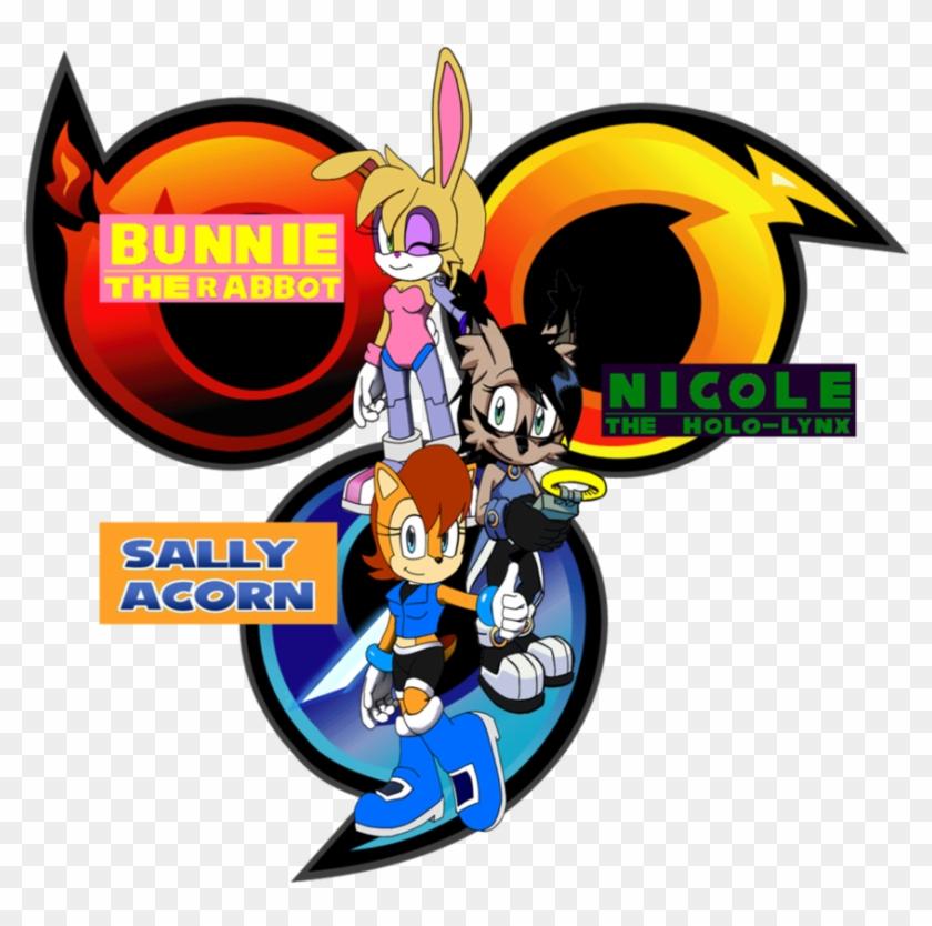 Team Freedom Sbn By Frostthehobidon - Sonic Heroes Fidget Spinner #339423