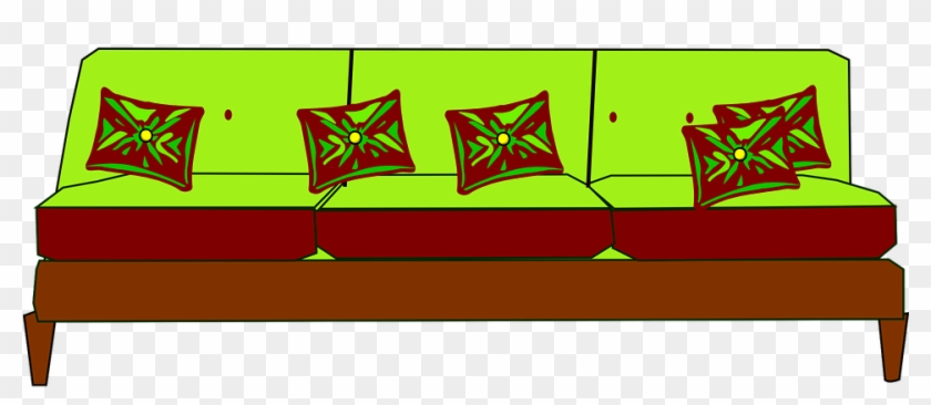 Sofa Clipart Cushion Couch Free Transparent Png Clipart Images