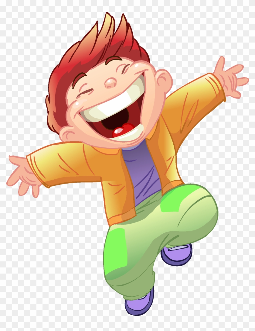 Cartoon Children, Kids, People - Happy Little Boy Animation #339779