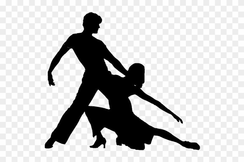 Salsa Silhouette - Salsa Dance Silhouette Png #340239