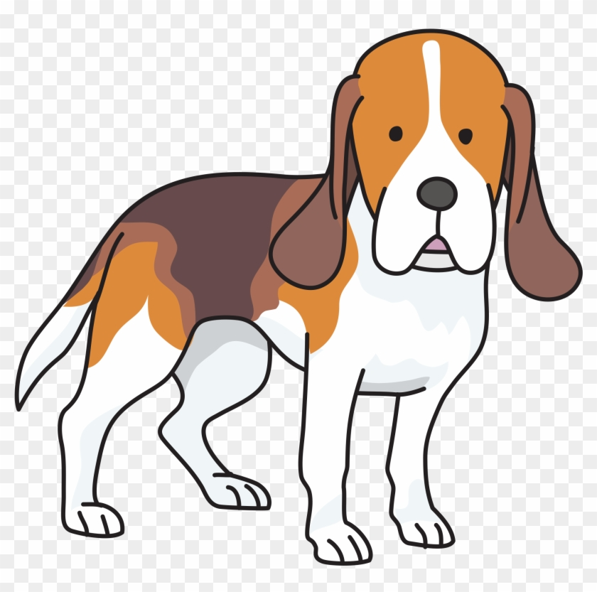 Cute Thank You Beagle Puppy Dog Greeting Stickers Zazzle - Beagle Png #340369