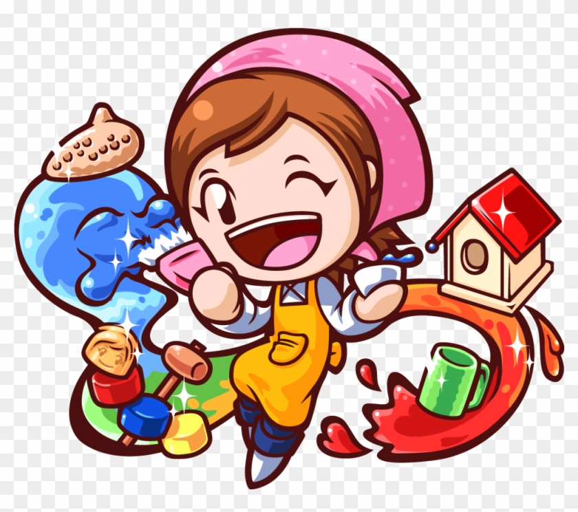 Hobbies Fun Key Art Cooking Mama No Background Free Transparent Png Clipart Images Download