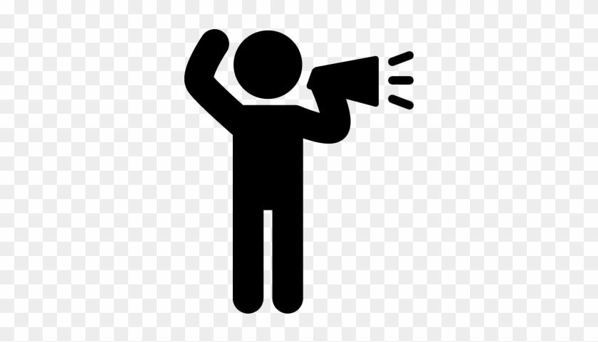 Coolest Speaker Clipart Loud Speaker Free Vector Clipart - Black Lives Matter Symbols #341028