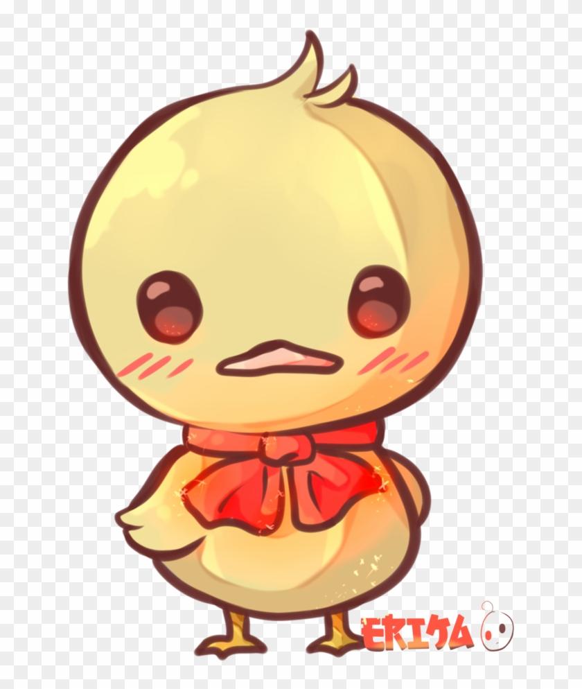 Drawn Duckling Kawaii - Kawaii Ducks #341297