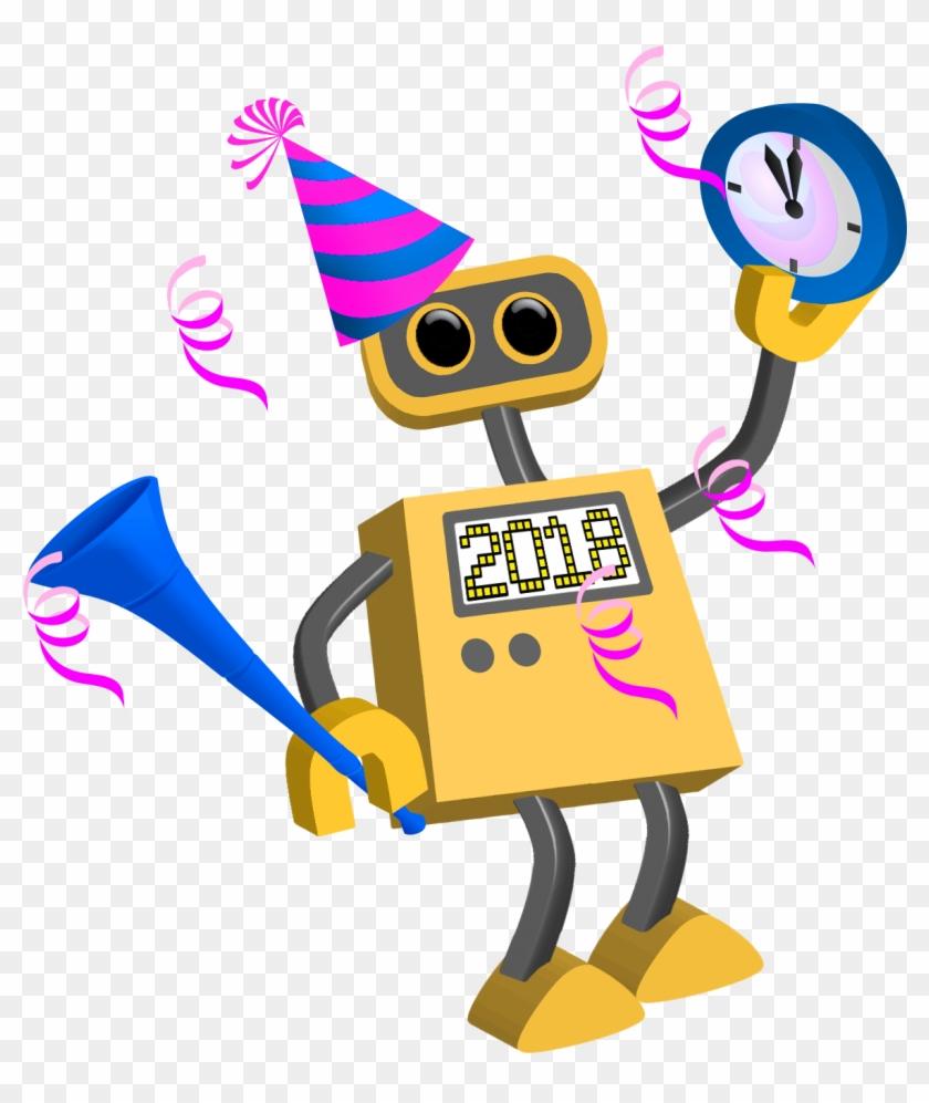 Happy New Year 2018 - Cartoon Happy New Year 2018 #341369