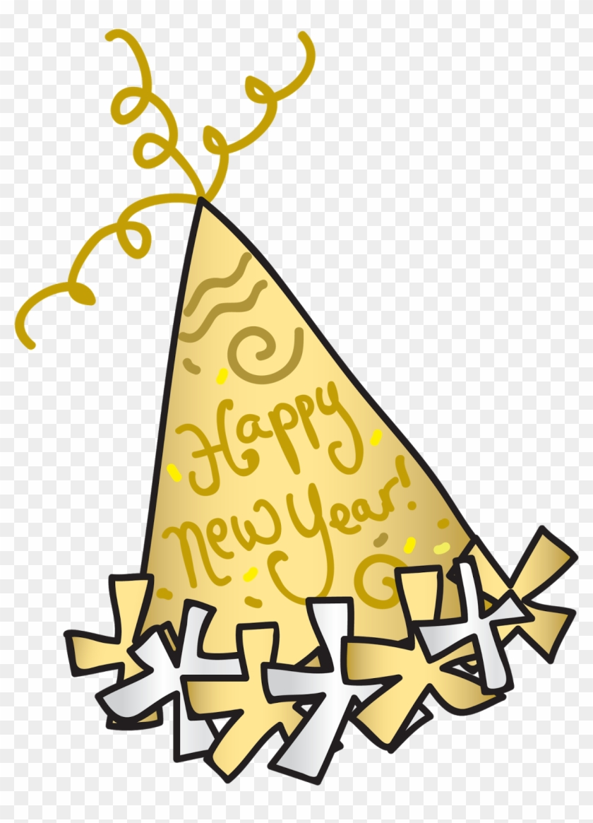 new year clipart for kids happy new year party hat clipart png 341542