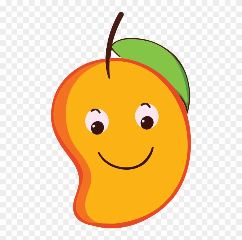 Mango Clipart Smiley - Cartoon Mango Png #341959