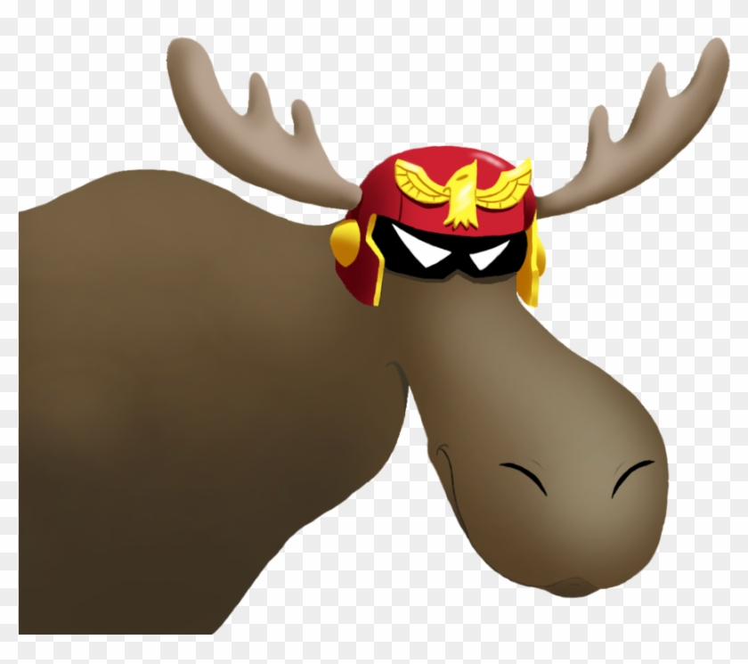 Show Ya Moose By Criticalhitsam - Show Me A Moose Captain Falcon #342210