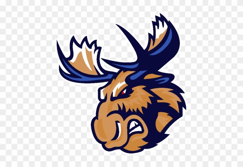 Mpvv46n - Manitoba Moose Logo Png #342223
