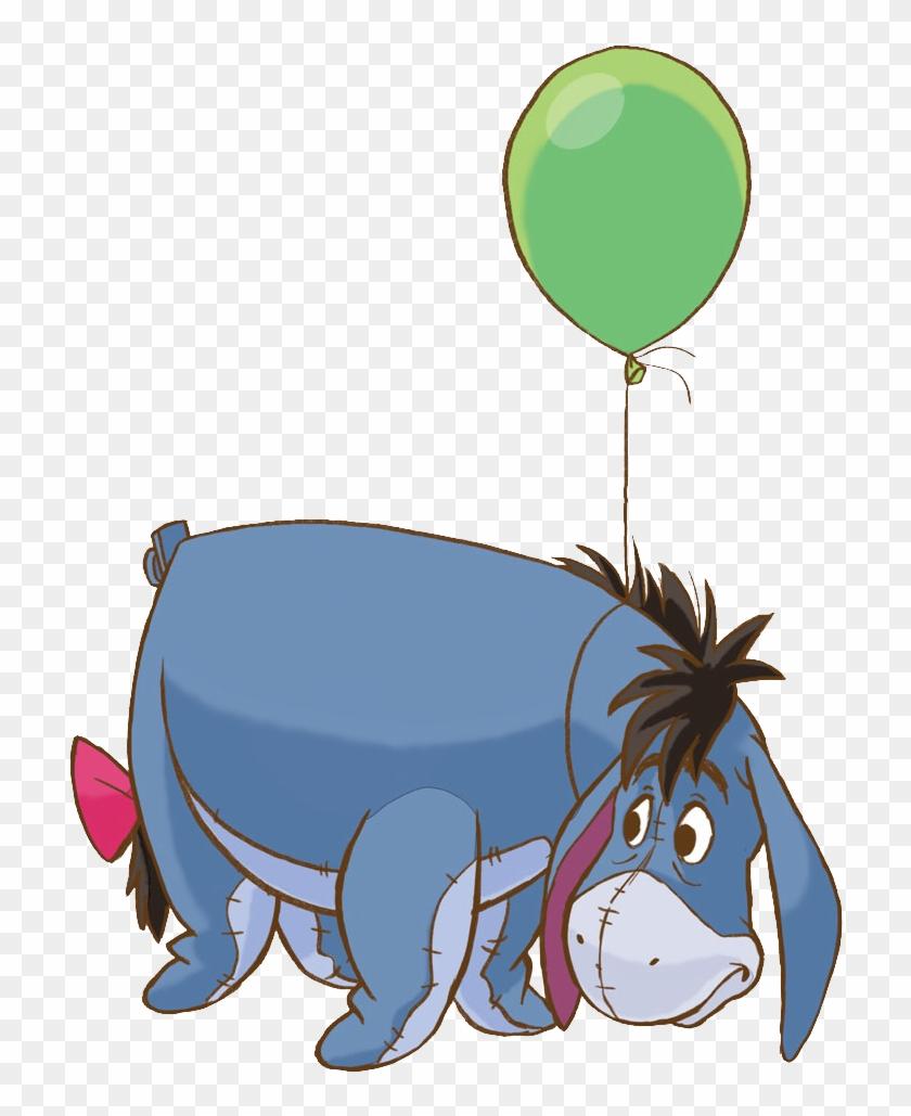 Eeyore Clip Art - Winnie The Pooh Eeyore #342680