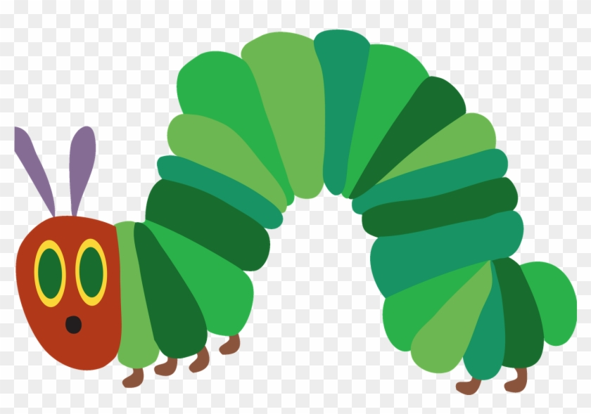 Butterfly Life Cycle - Very Hungry Caterpillar Clipart #343085
