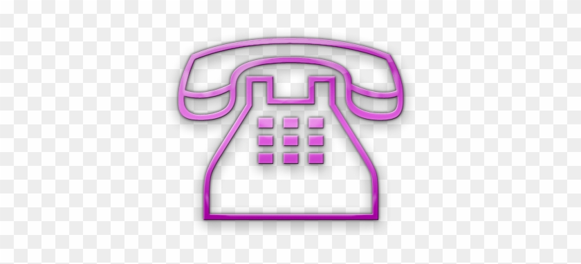 Telephone Clipart Clip Art Pink - Phone Icon For Business Card - Png  Download (#11949) - PinClipart