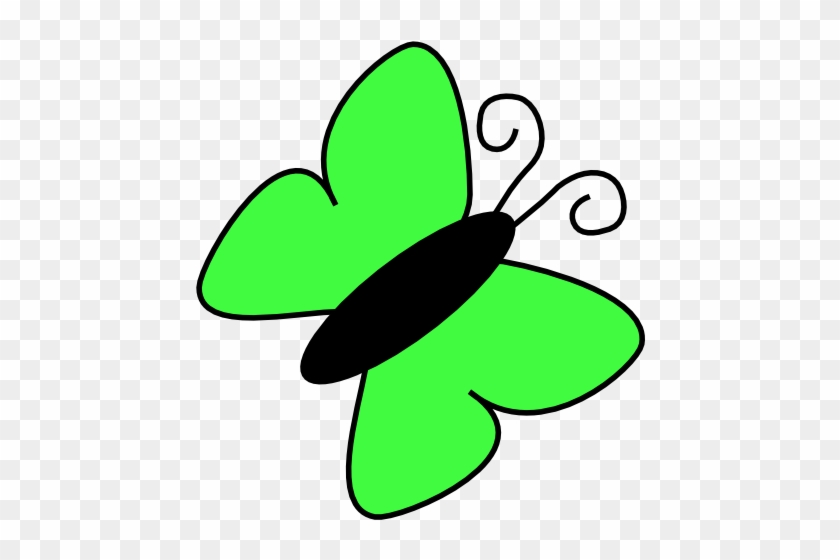 How To Set Use Light Green Butterfly Icon Png - Green Butterfly Clip Art #343195