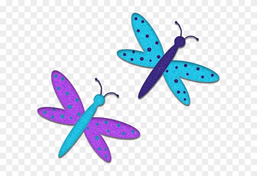 Grubs, Clip Art, Butterflies, Butterflies, Vermin - Dragonfly #343323