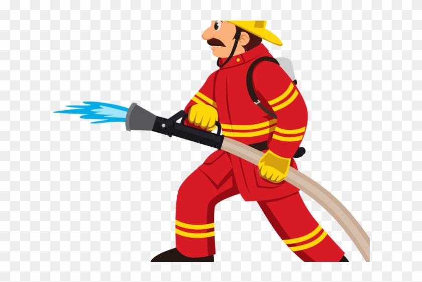Firemen Clipart - Firefighter Clipart #343846