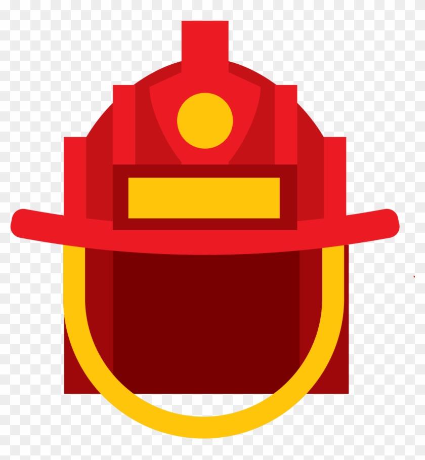Firefighter Helmet Icon - Firefighter Helmet Icon #343984