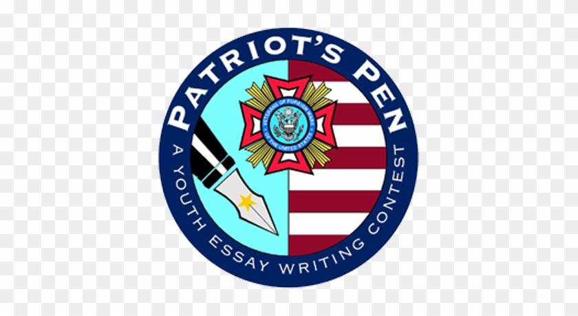 Vfw Patriots Pen Logo Clipart - Veterans Of Foreign Wars #344104
