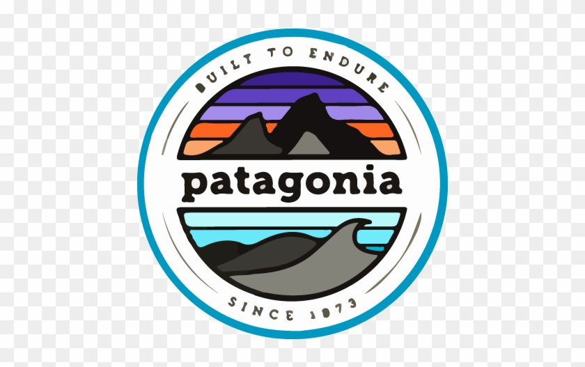 We Work With The Very Best - Patagonia Stickers - Free