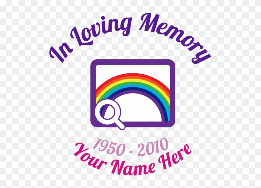 Multi-color In Loving Memory With Any Clipart Sticker - Loving Memory Golf Clubs Sticker #344405