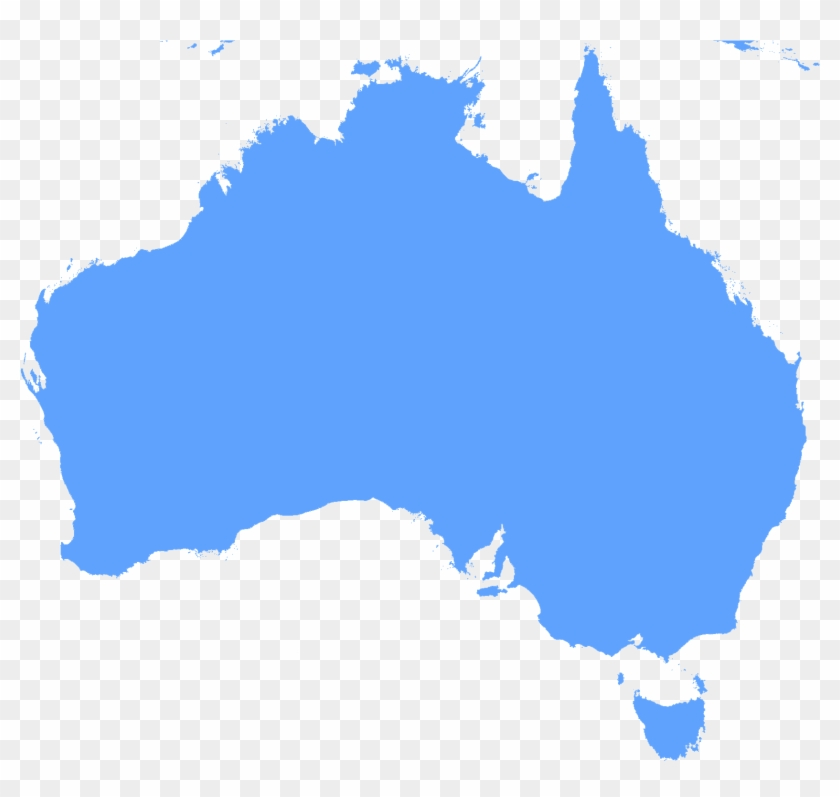 Australia Outline Map Clipart Australian And British Flag Free