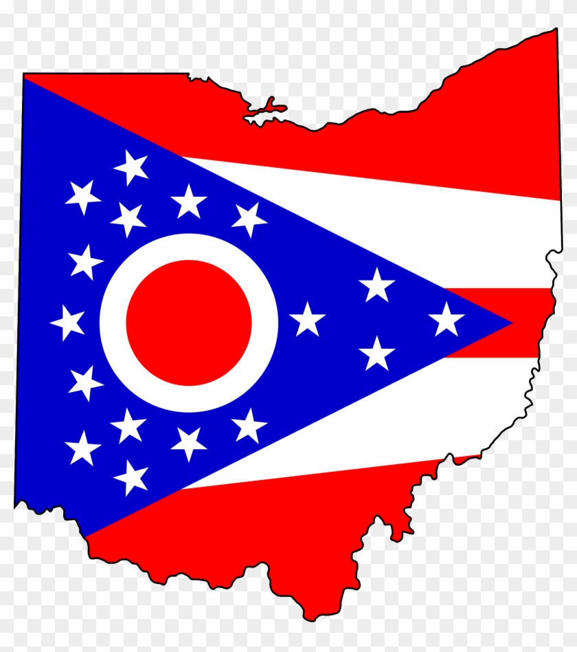 Free Ohio Map.Ohio Map Clipart Flag Map Of Ohio Free Transparent Png Clipart