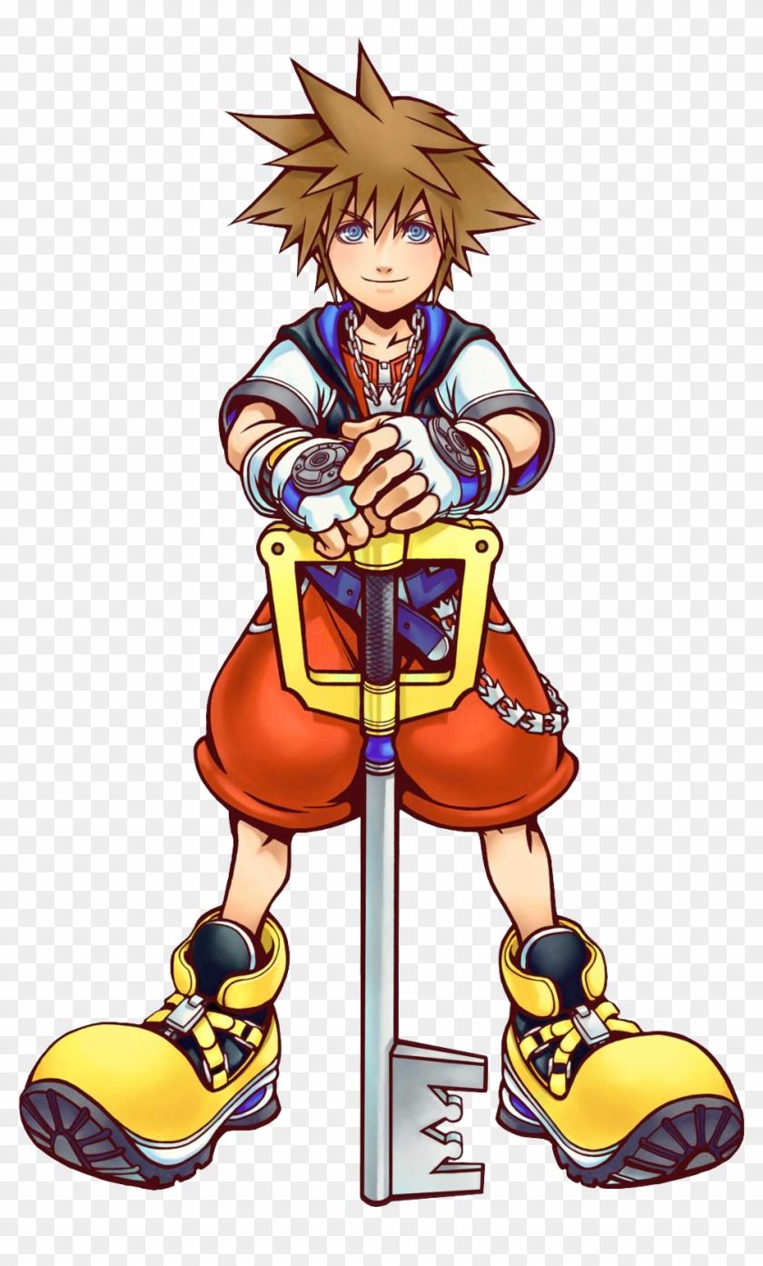 Sora 2 Kh Kingdom Hearts Sora Artwork Free Transparent Png