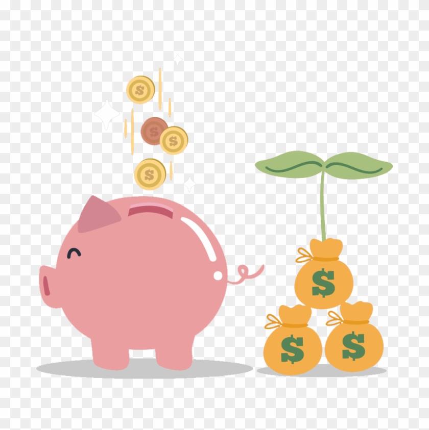 Piggy Bank 1 - Pig #344919