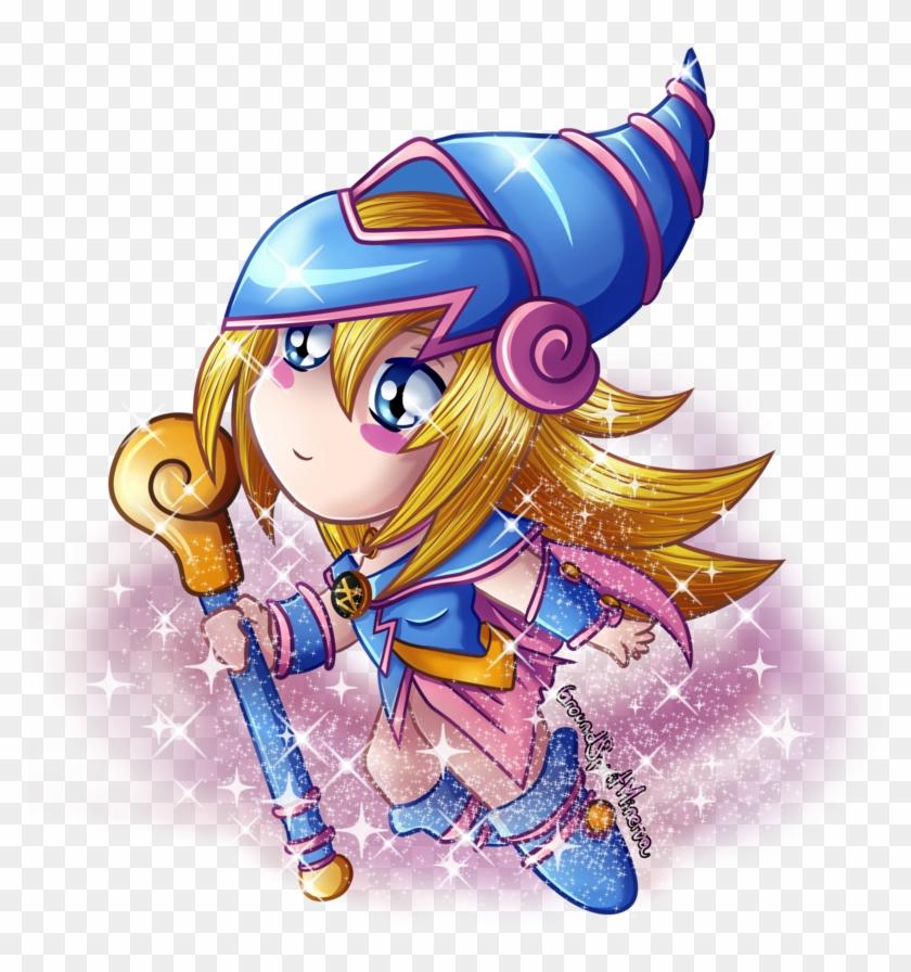 Chibi Dark Magician Girl By Groundspiritminerva - Magician #345026