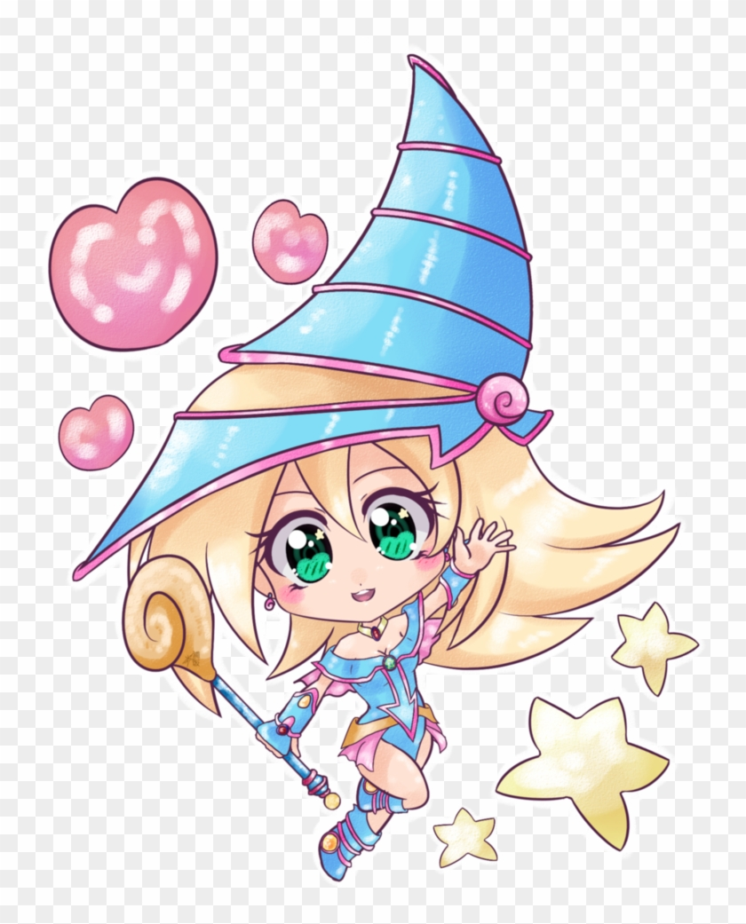 Black Magician Girl By Shinydorayaki - Dark Magician Girl Chibi #345029