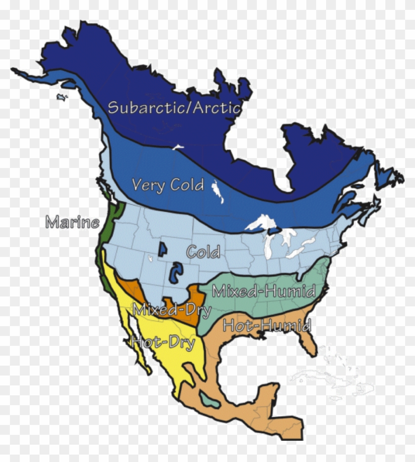 Climate Map Of North America All About Zones Com Building - Long Term Ecological Research Network #345408