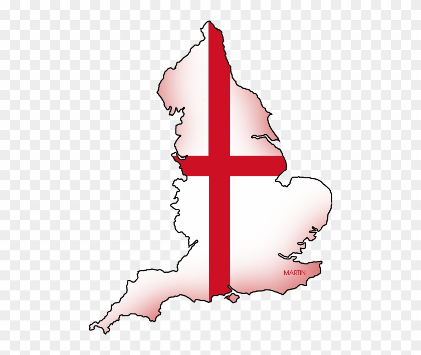 England Map Flag Of England Free Transparent Png Clipart Images