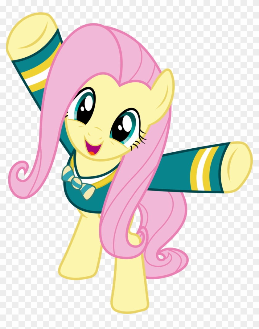 My Little Pony Discord Download My Little Pony Fluttershy Standing Free Transparent Png Clipart Images Download