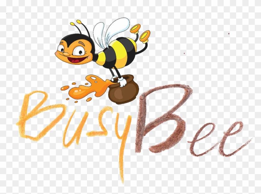 Cartoon Honey Bees #345534