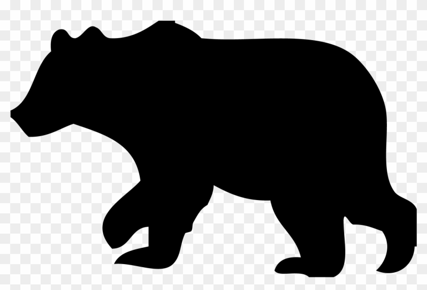 black bear clipart outline black bear silhouette clip art free rh clipartmax com black bear clip art svg black bear clip art free