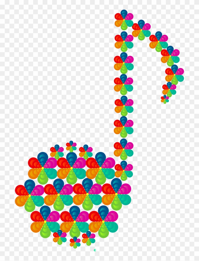 Clipart Colourful Music Note Border Free Transparent Png Clipart