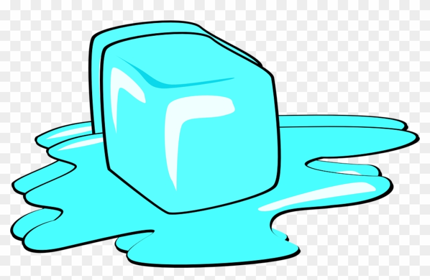 Wet Cliparts - Ice Cube Melting #346316
