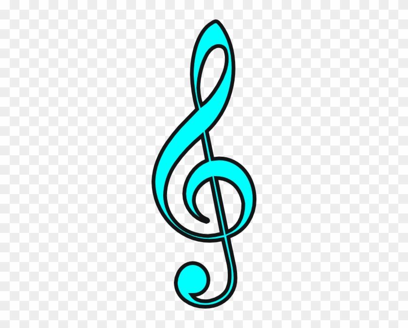 Free Music Graphics - Shamrock Treble Clef #346334