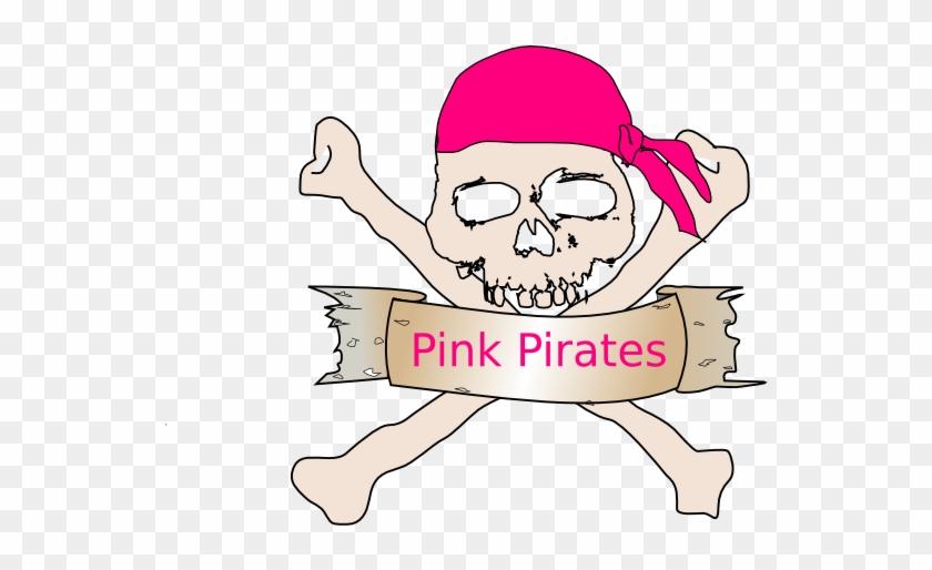 Pirat Retail Clip Art At Clker - Pirates Skull And Crossbones Shower Curtain #346423