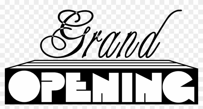 Grand Opening Clip Art Free - Grand Opening #346455