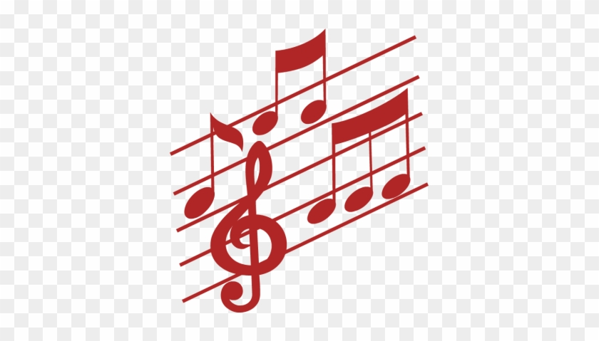 Red - Music - Notes - Clip - Art - Colorful Music Notes Icon #346567